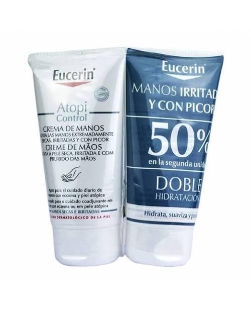 Eucerin Atopicontrol Crema de Manos 2x75ml