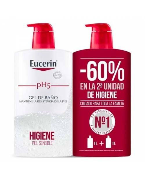 Eucerin pH5 Gel de Baño 2X1000ml