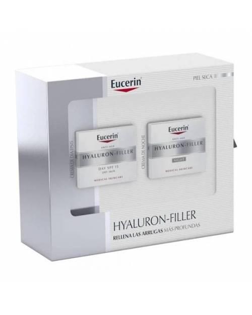 Eucerin Hyaluron Filler Crema Dia Piel seca 50ml + Crema noche 50ml