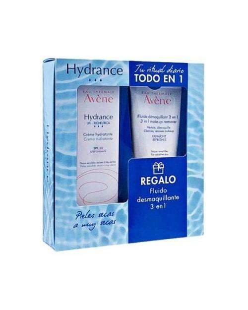 Avene Hydrance UV Crema Rica 40ml + Fluido Desmaquillante 100ml