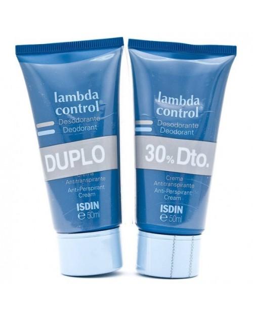 lambda duplo desodorante control crema 50ml