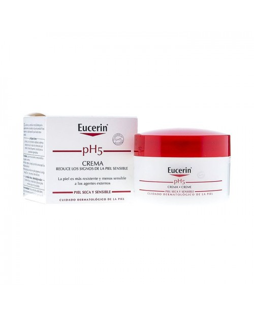 eucerin ph5 crema tarro 75 ml.